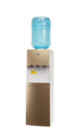 Кулер для воды со шкафчиком SMixx HD-1578 B золотой с белым