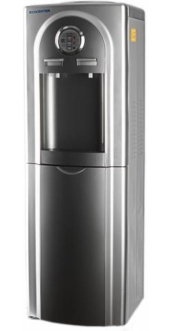 Кулер для воды  Ecocenter  G-F4C серебристый