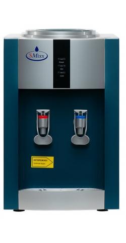 Настольный кулер для воды SMixx 16TD/E голубой с серебром