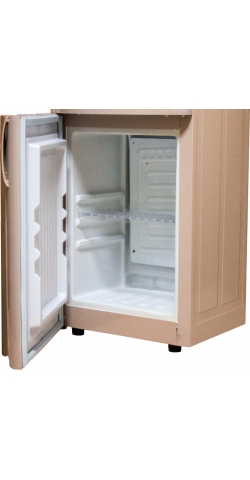 Кулер для воды с холодильником Aqua Work 28-L-B/B бежево-синий
