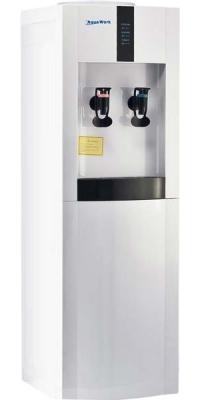Кулер для воды с компрессорным охлаждением Aqua Work 16-L/EN Белый