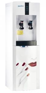 Кулер для воды с апликацией и электронным охлаждением Aqua Work 16-LD/EN red lips