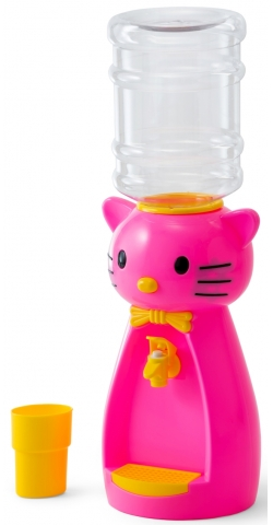 Кулер Vatten kids Kitty pink