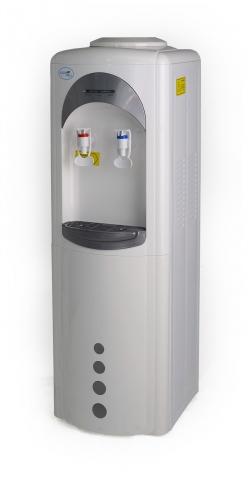 Кулер для воды напольный компрессорный Aqua Well 16-LD/HL серебро