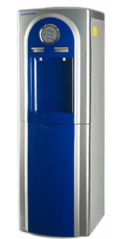 Кулер со шкафчиком напольный Ecocenter G-F4EC темно-синий