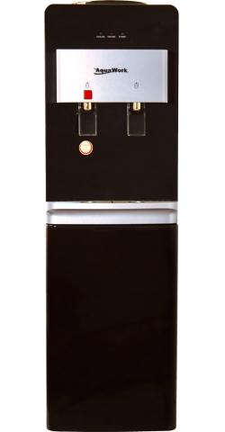 Напольный кулер со шкафчиком Aqua Work R86-W