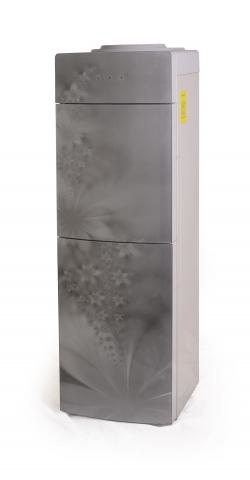 Кулер для воды напольный компрессорный Aqua Well 2-JX-5 ПКC  Серый флю