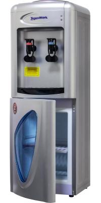 Кулер для воды  компрессорный Aqua Work 0.7-LR серебро