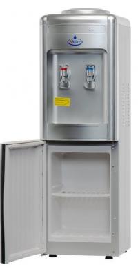Кулер  для воды SMixx 08LD серебристый со шкафчиком