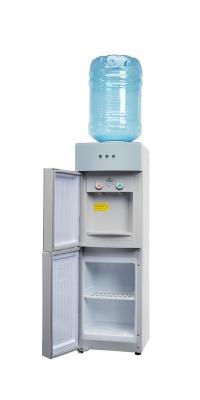 Кулер для воды со шкафчиком SMixx 1238 LD серебристый