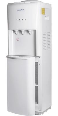 Кулер с холодильником Aqua Work 1345-S-B белый