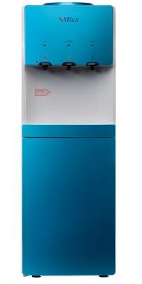 Кулер для воды со шкафчиком SMixx HD-1578 B голубой с белым