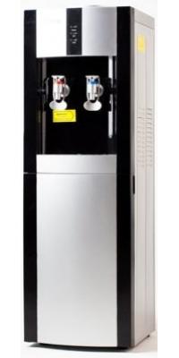 Кулер для воды c  APEXCOOL 16L/E черный с серебром
