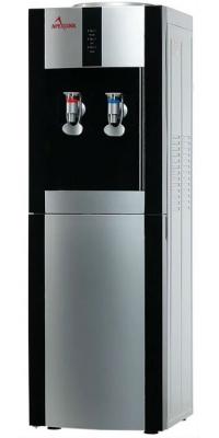 Кулер для воды электронный APEXCOOL16 LD/E черный с серебром