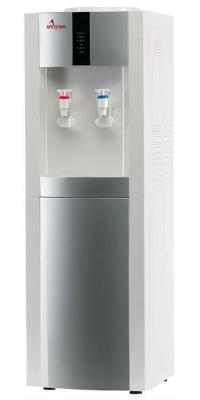 Кулер для воды электронный APEXCOOL 16 LD/E белый с серебром