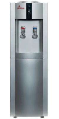 Кулер для воды c  APEXCOOL 16L/E Серебристый