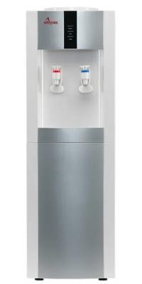 Кулер для воды c  APEXCOOL 16L/E белый с серебром