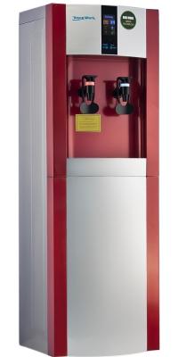 Кулер для воды Aqua Work 16LD/ENST серебристо красный