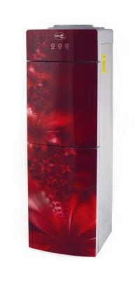 Кулер для воды Aqua Well 2-JXD-5 ПЭ красный флюр