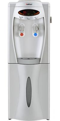 Кулер для воды напольный со шкафчиком Hotfrost V208 XST