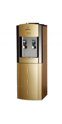 Кулер для воды с компрессорным охаждением Bioray WD 3321 black-gold