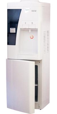 Кулер напольный для воды со шкафчиком Aqua Work 3-W белый