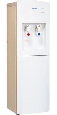 Кулер для воды напольный со шкафчиком Aqua Work V901 белый