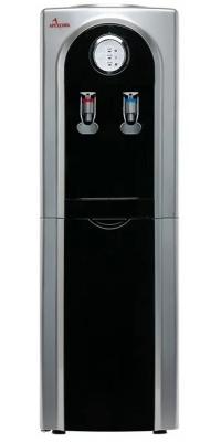 Кулер для воды APEXCOOL 95 L черный с серебром