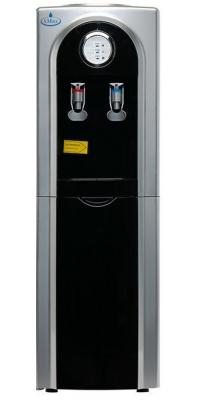 Кулер для воды c холодильником SMixx 95 L-B/E черный с серебром