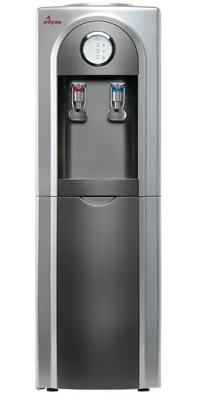 Кулер для воды APEXCOOL 95 L серый с серебром