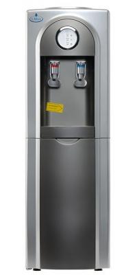Кулер для воды c холодильником SMixx 95L-B/E серый с серебром