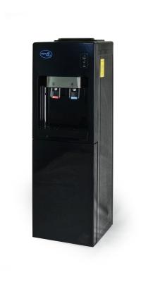 Кулер с холодильником Aqua Well 1.5-JXС-1-ПКХ черный
