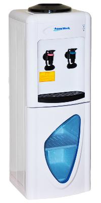 Кулер для воды со шкафчиком и электронный охлаждением Aqua Work 0.7-LD