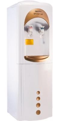 Кулер для воды с компрессорным охлаждением Aqua Work 16-L/HLN золотистый