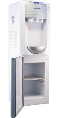 Кулер для воды с холодильником Aqua Work 712-S-В