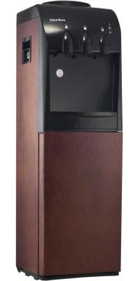 Кулер для воды Aqua Work 833-S-B в коричневой коже