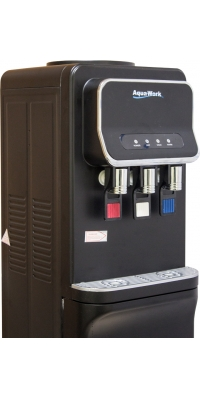 Кулер для воды напольный с электронным охлаждением Aqua Work V93-W черный
