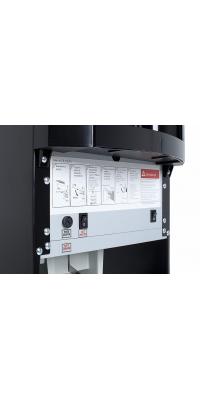 Кулер для воды HotFrost 30 AN - нижняя загрузка