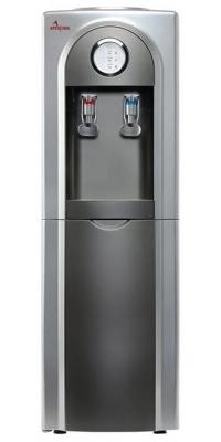 Кулер для воды APEXCOOL 95 LD Серый с серебром