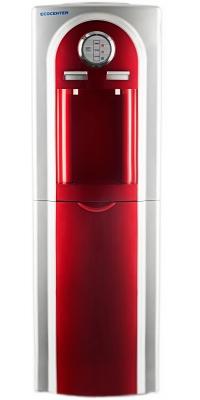 Кулер со шкафчиком напольный Ecocenter G-F4EC красный