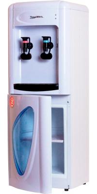 Кулер для воды со шкафчиком и электронный охлаждением Aqua Work 0.7-LDR